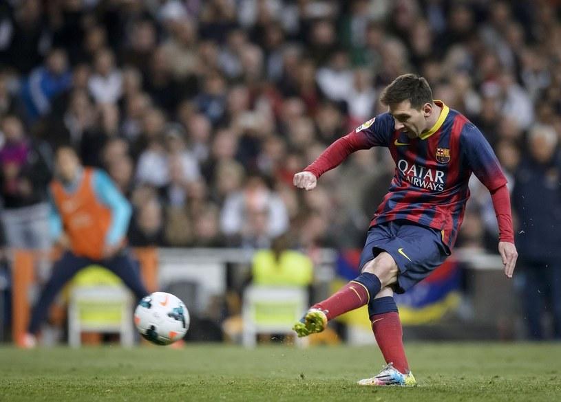 Leo Messi w sezonie 2011/12 zdobył 14 bramek w Lidze Mistrzów /AFP