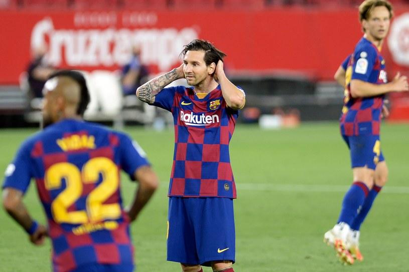 Leo Messi (w środku) /AFP