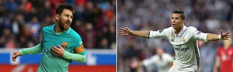 Leo Messi (z lewej) i Cristiano Ronaldo /AFP