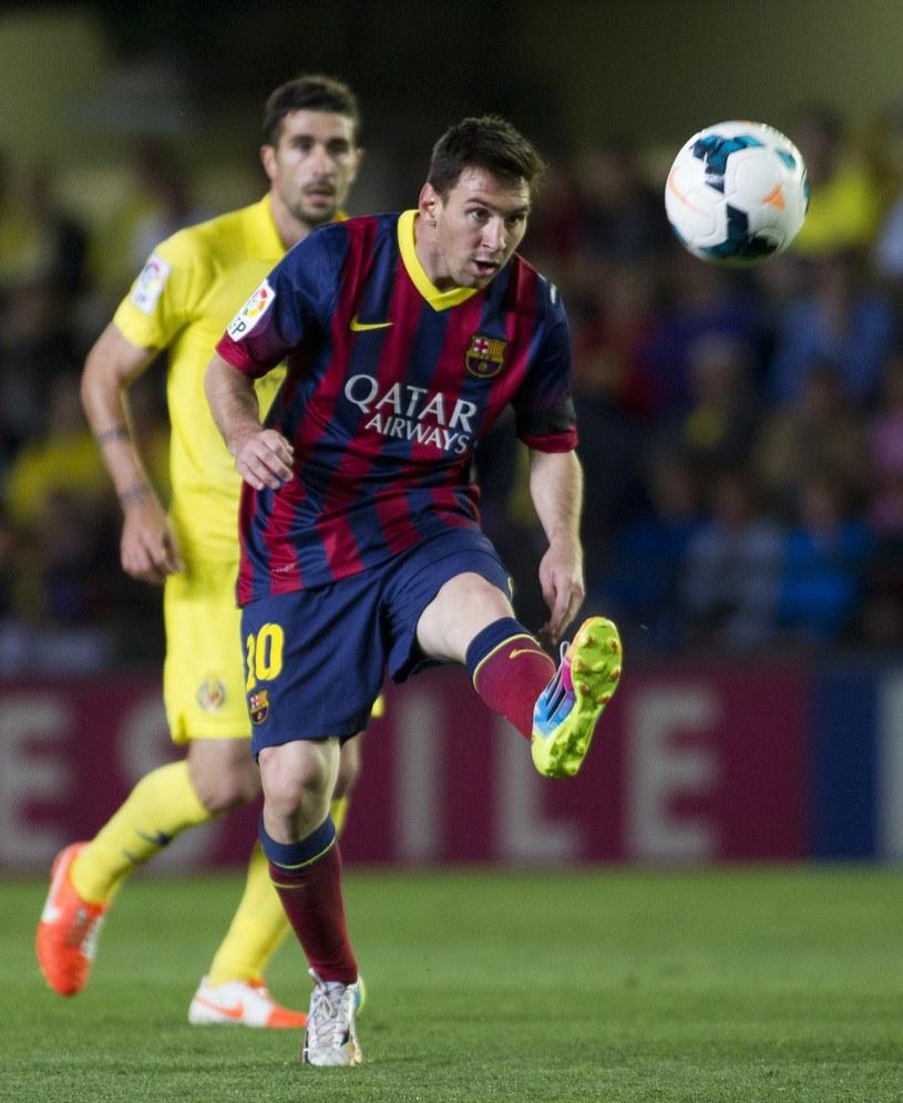 Leo Messi zdobył trzeciego gola dla Barcelony /AFP