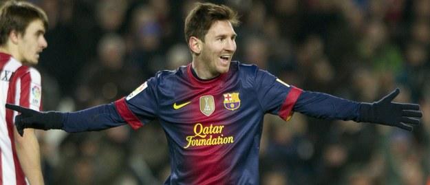 Leo Messi /ALEJANDRO GARCIA  /PAP/EPA