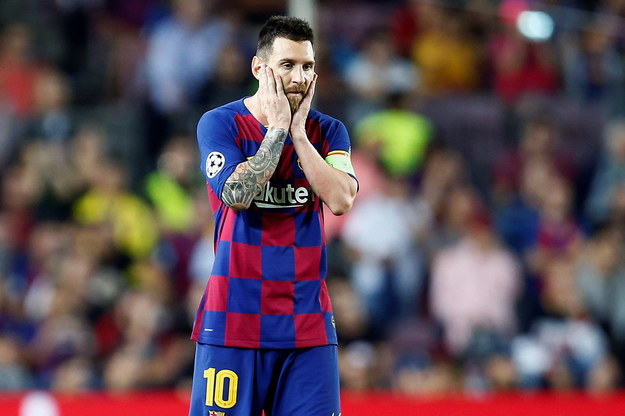 Leo Messi /QUIQUE GARCIA /PAP/EPA