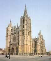León, katedra, Hiszpania /Encyklopedia Internautica