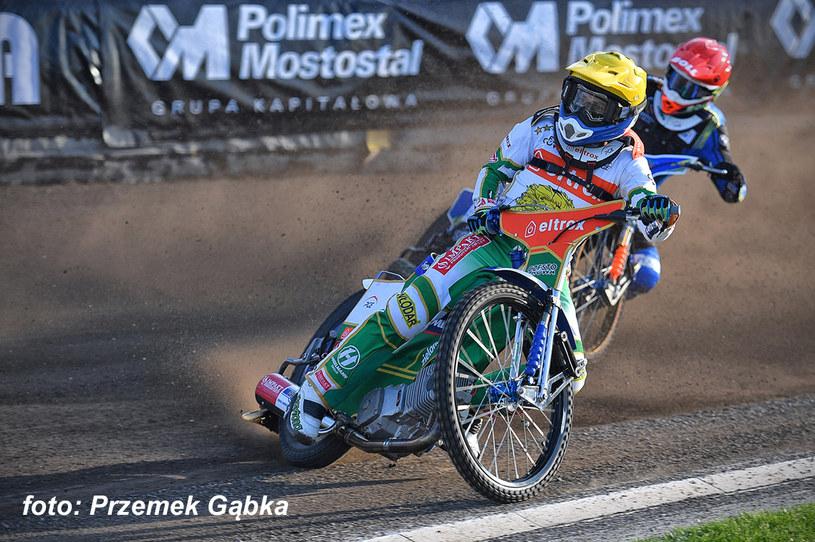 Leon Madsen na prowadzeniu /Przemysław Gąbka /Flipper Jarosław Pabijan