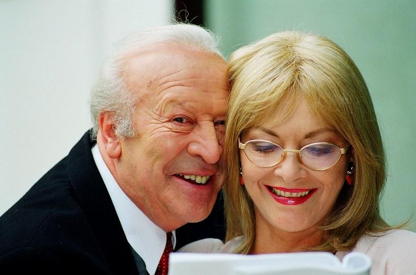 Leon Niemczyk i Barbara Brylska /Maciej Billewicz /East News