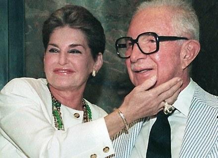 Leona i Harry Helmsley  w Nowym Jorku (1991 rok). /AFP