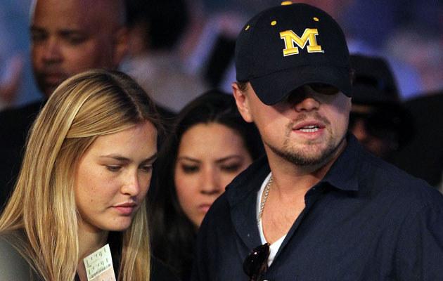 Leonadro DiCaprio i Bar Refaeli, fot. Jed Jacobsohn  /Getty Images/Flash Press Media