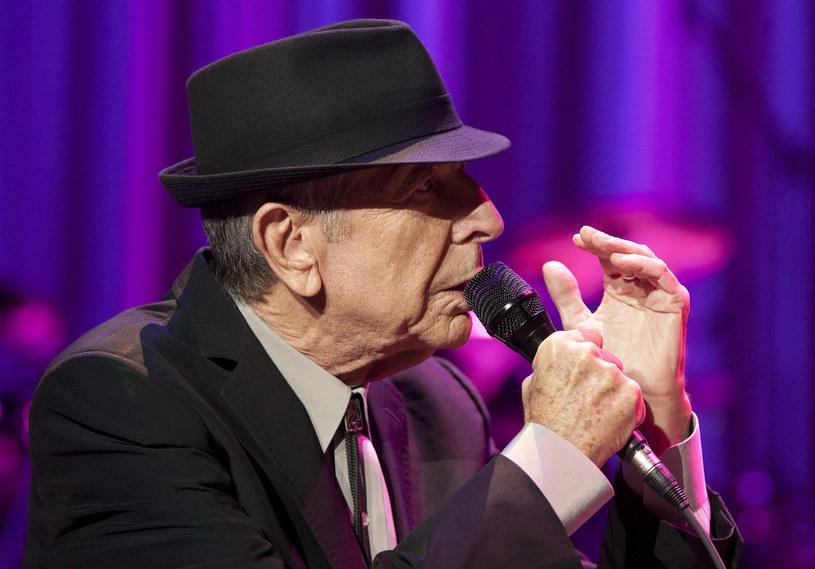 Leonard Cohen skończył 82 lata /fot. Mike Lawrie /Getty Images