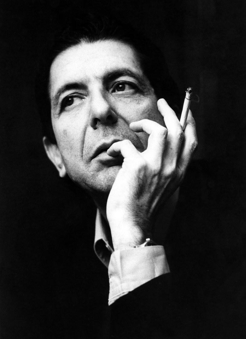 Leonard Cohen w Warszawie w 1986 r. /fot. Robert Król /Reporter