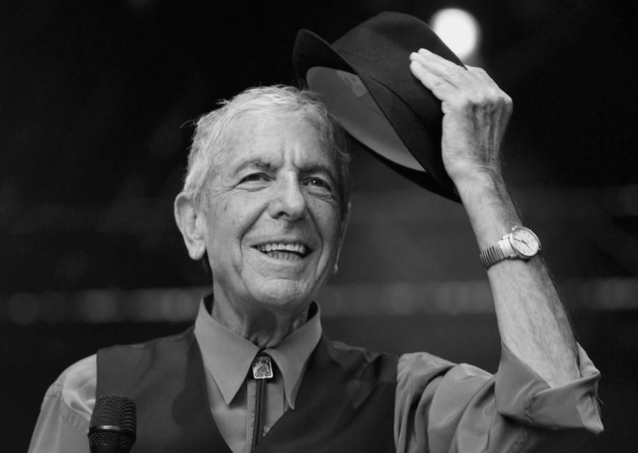 Leonard Cohen /ROLF HAID /PAP/EPA