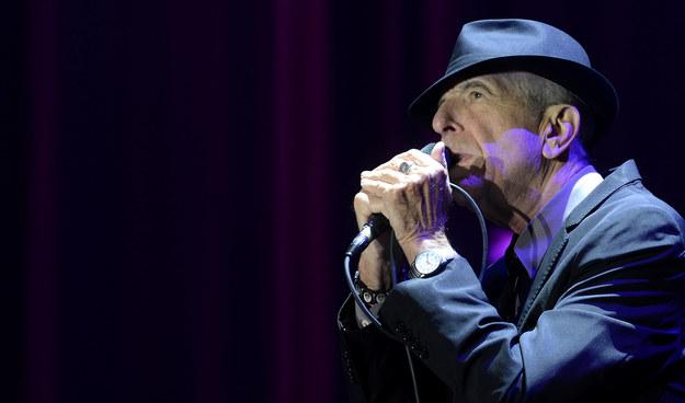 Leonard Cohen /Michal Krumphanzl  /PAP/EPA