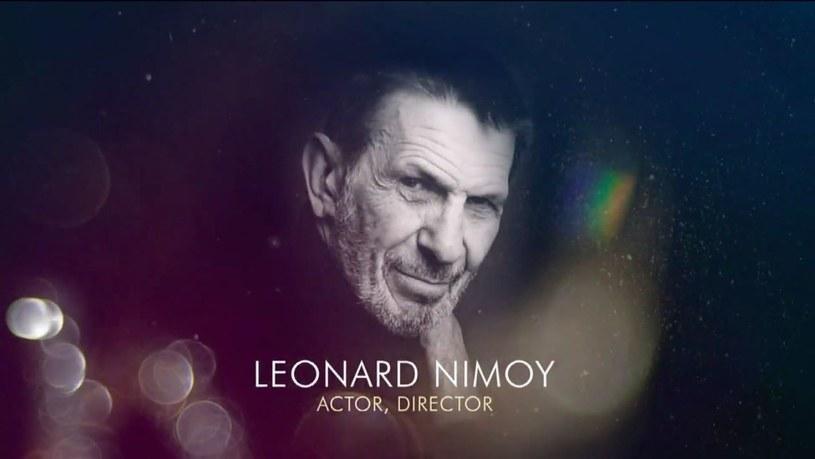 """Leonard Nimoy otrzymał należny hołd, ale w sekcji """"In Memoriam"""" pominięto wielu innych zasłużonych dla kinematografii artystów /AFP"""
