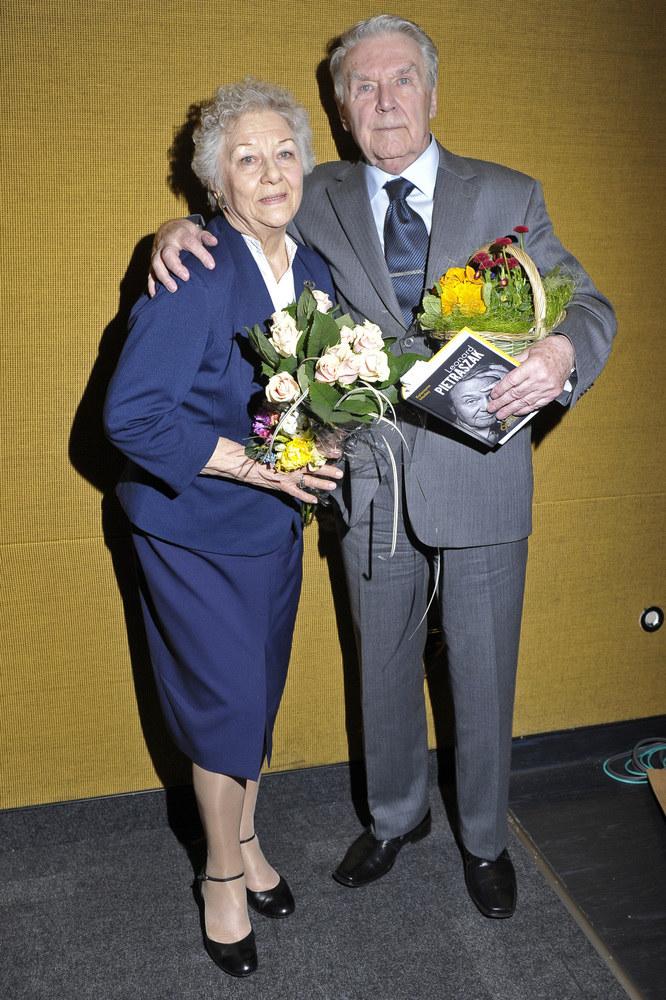 Leonard Pietraszak z żoną Wandą /Niemiec /AKPA