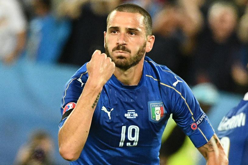 Leonardo Bonucci (Włochy) /AFP