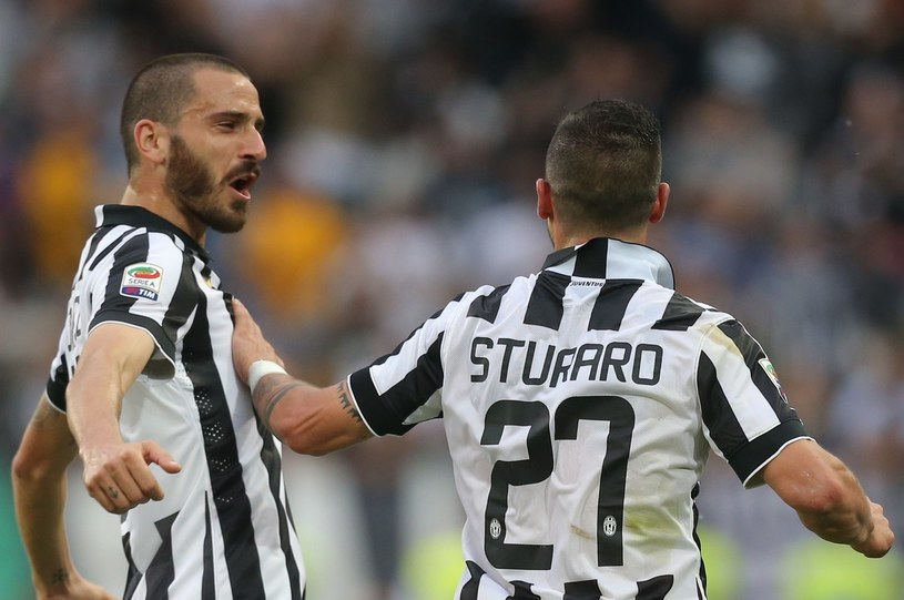 Leonardo Bonucci (z lewej) /AFP