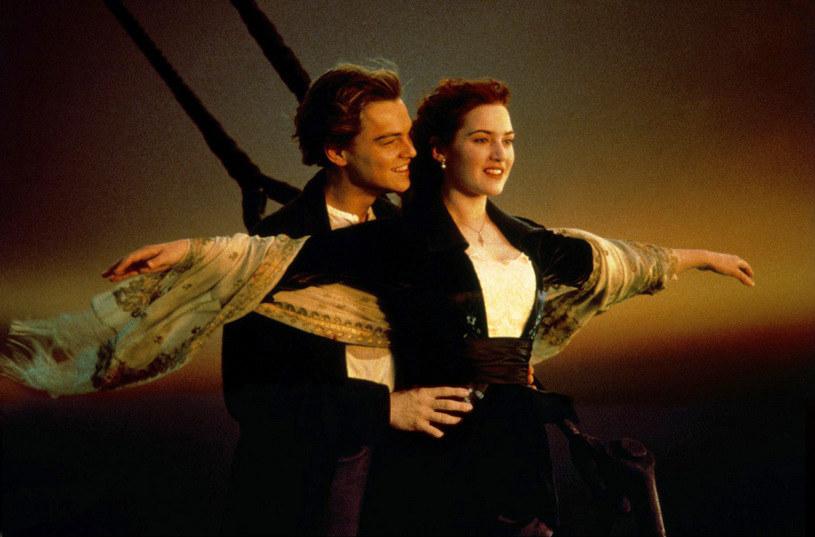 "Leonardo DiCaprio i Kate Winslet w filmie ""Titanic"" (1997) /AKPA"