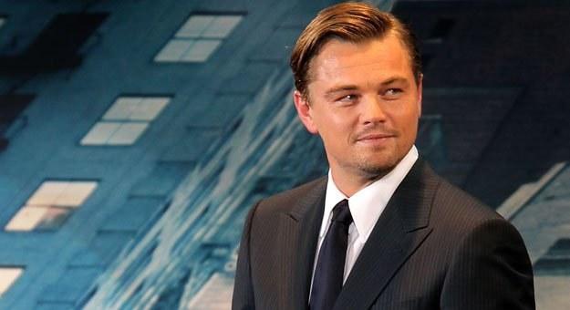 """Leonardo DiCaprio na japońskiej premierze """"Incepcji"""", fot. Kiyoshi Ota /Getty Images/Flash Press Media"""