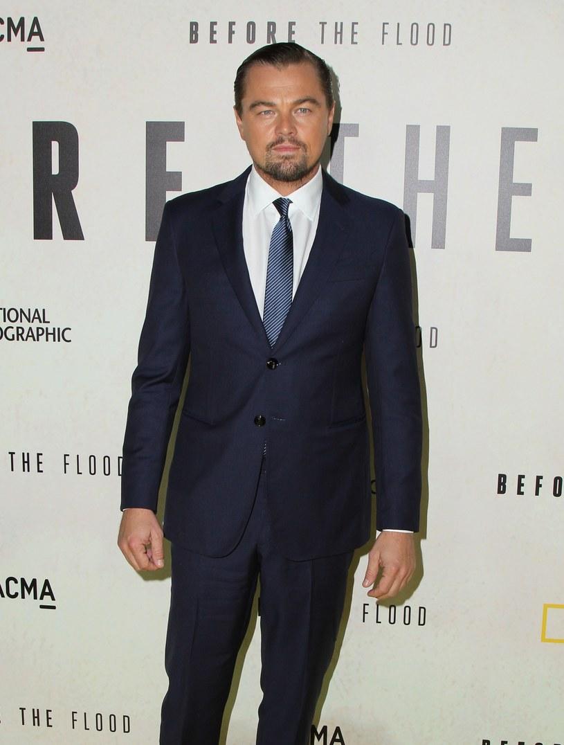 Leonardo DiCaprio wyraził swoją solidarność z narodem ormiańskim. /East News