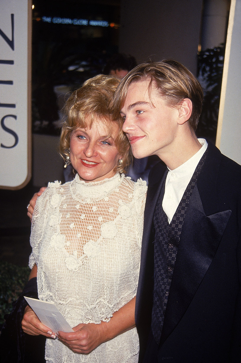 Leonardo DiCaprio z mamą /Time Life Pictures/DMI/The LIFE Picture Collection /Getty Images