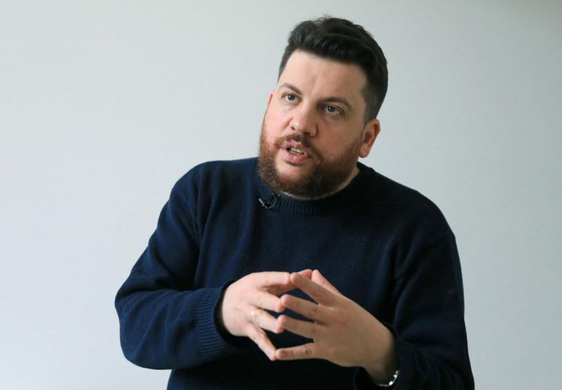 Leonid Wołkow - współpracownik Nawalnego, pod którego podszył się oszust /PETRAS MALUKAS/AFP/East News /East News