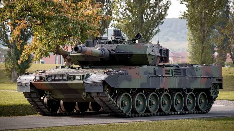 Leopard 2 A7V /materiały prasowe