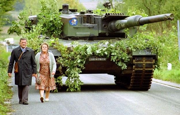 Leopard 2 we Francji /AFP