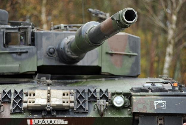 Leopard 2A4, fot. Wojciech Strozyk /Reporter
