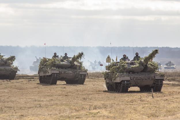 Leopardy w polskiej armii fot. Marek Maliszewski/REPORTER /Reporter