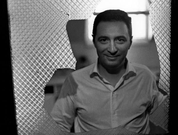 Leopold Tyrmand, Warszawa 1958. Fot.Wojciech Plewinski /Agencja FORUM