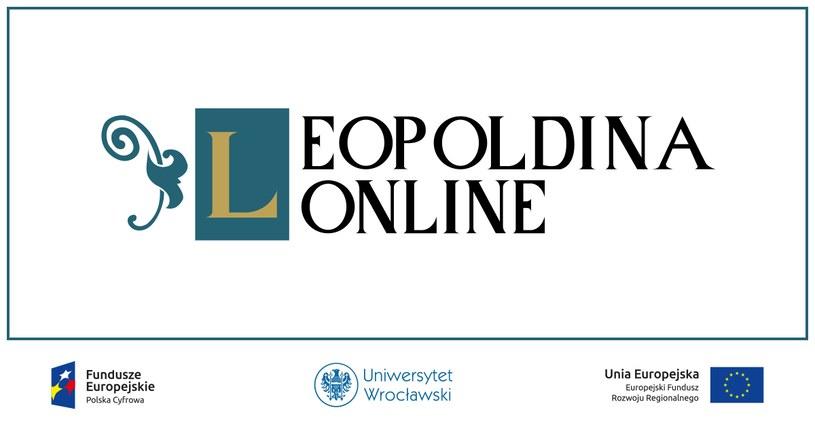 Leopoldina Online jest platformą, która umożliwia otwarty dostęp do cennych zbiorów Uniwersytetu Wrocławskiego /materiały promocyjne