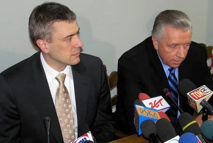 Lepper i Giertych zapowiadali sukces wyborczy, a skończyło się całkowitą klapą /INTERIA.PL
