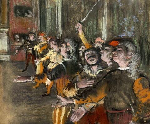 Les Choristes autorstwa Degasa /Wikimedia Commons /