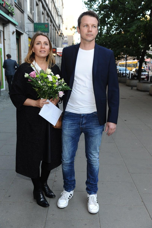 Lesław Żurek z żoną /Piotr Andrzejczak /MWMedia