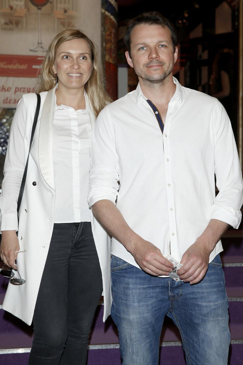 Lesław Żurek z żoną /Podlewski /AKPA