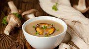 Leśna zupa grzybowa