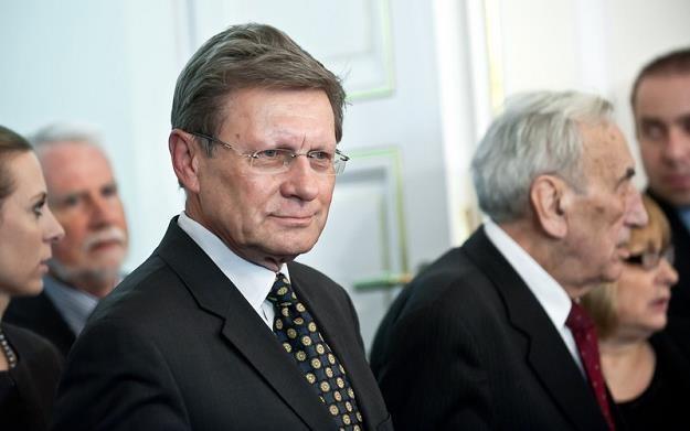 Leszek Balcerowicz_i Tadeusz Mazowiecki fot_Bartosz_Krupa_SE_ /East News