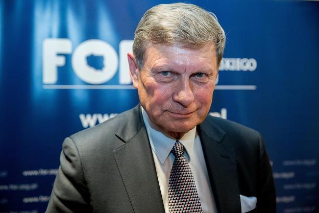 Leszek Balcerowicz, szef FOR. Fot  Andrzej Iwańczuk /Reporter