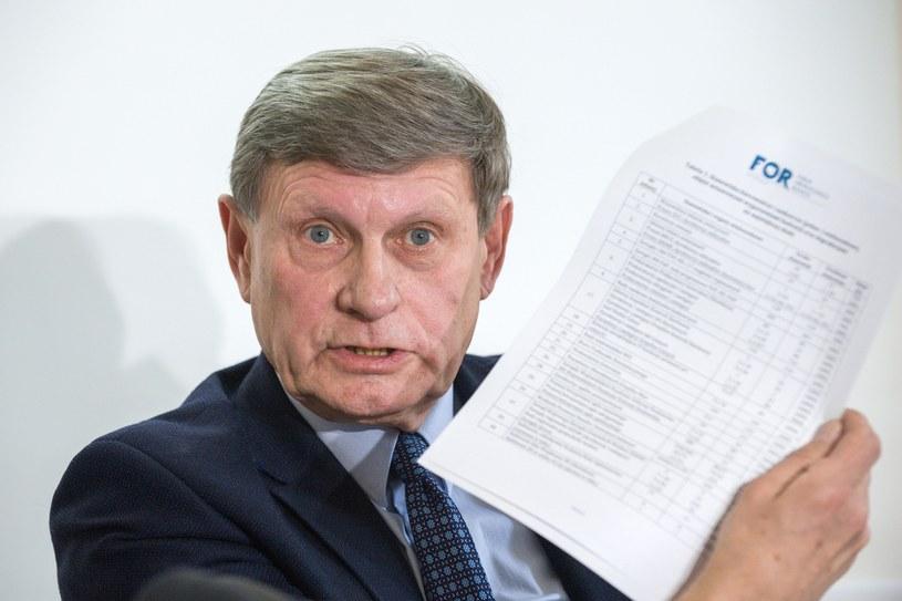 Leszek Balcerowicz /Grzegorz Krzyzewski /Reporter