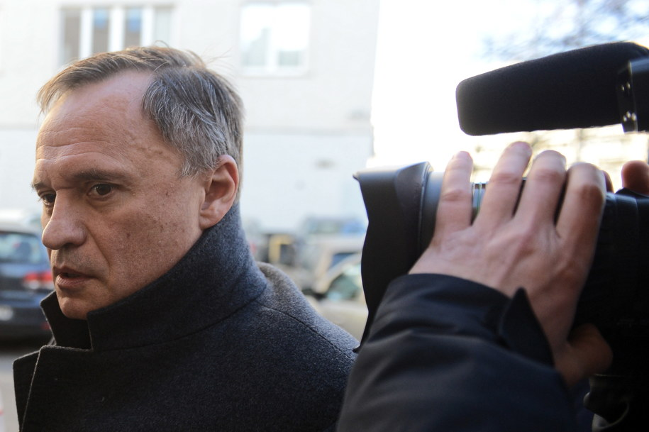 Leszek Czarnecki na zdjęciu z marca 2019 roku / Jakub Kamiński    /PAP