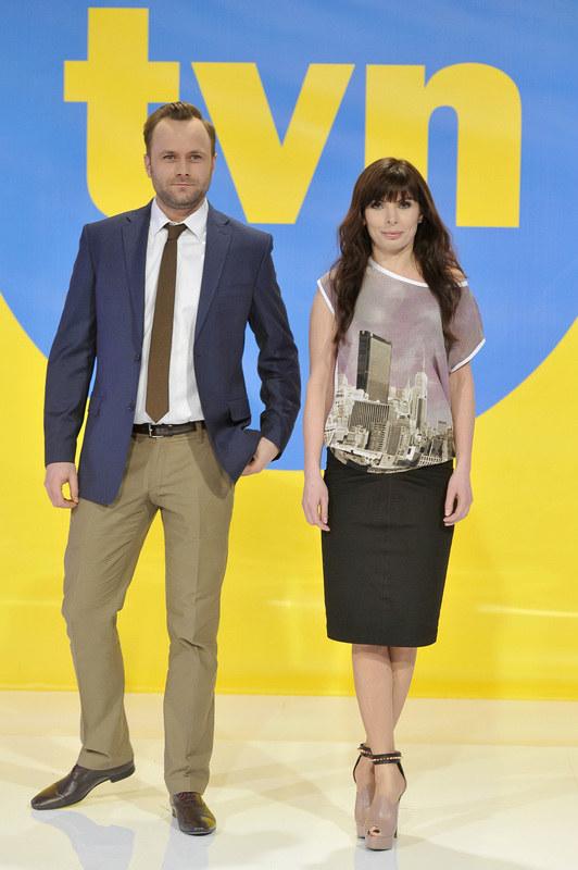 Leszek Lichota i Agnieszka Dygant /Kurnikowski /AKPA