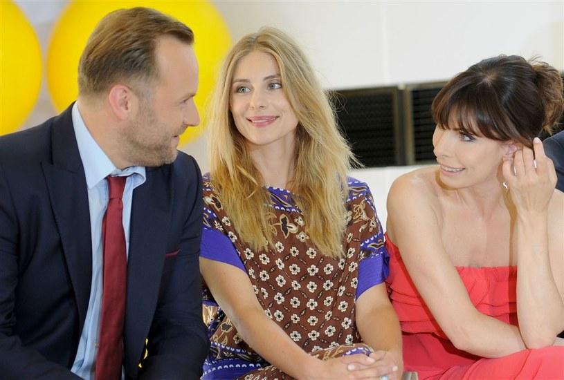 Leszek Lichota, Katarzyna Zawadzka i Agnieszka Dygant /Agencja W. Impact