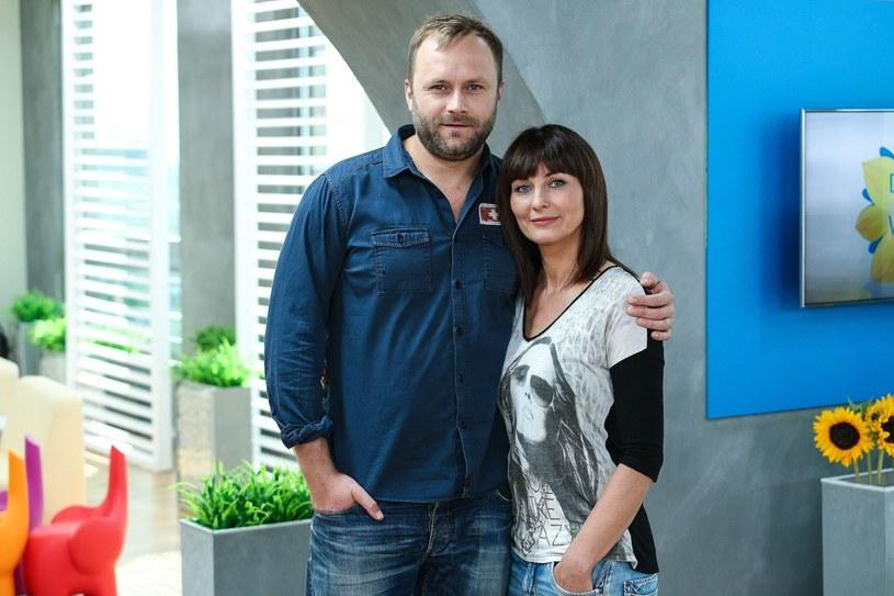 Leszek Lichota z Iloną Wrońską /Kamil Piklikiewicz/DDTVN /East News