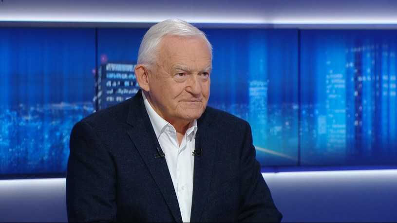 "Leszek Miller w programie ""Gość Wydarzeń"" /Polsat News /Polsat News"