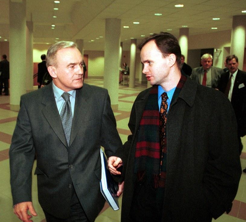 Leszek Miller z synem / Jacek Domiński /Reporter