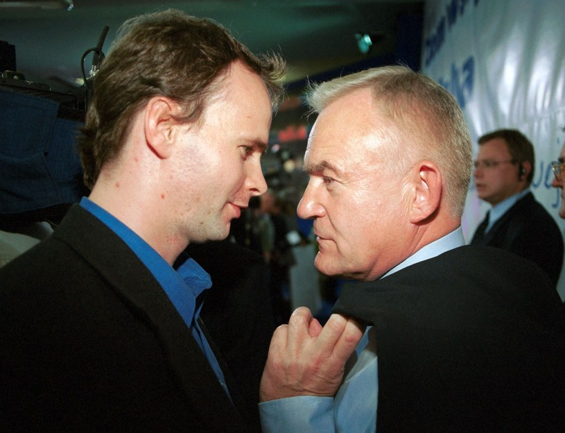 Leszek Miller z synem /fot. Andrzej Iwanczuk/REPORTER /Reporter