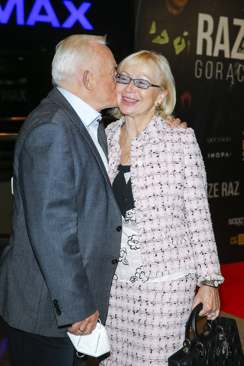 Leszek Miller z żoną /Podlewski /AKPA