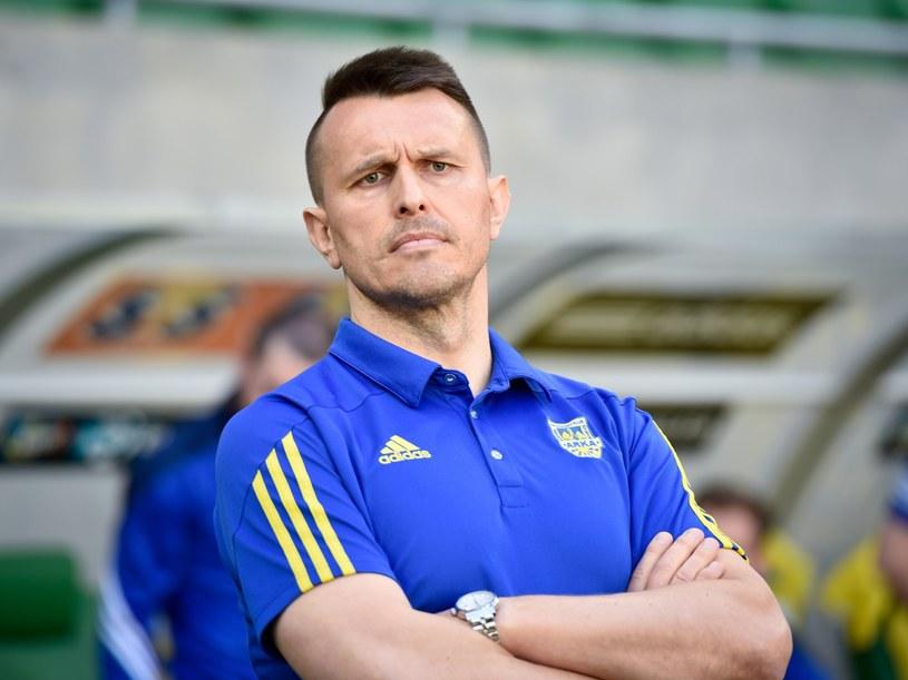 Leszek Ojrzyński, trener Arki Gdynia /Piotr Dziurman /East News