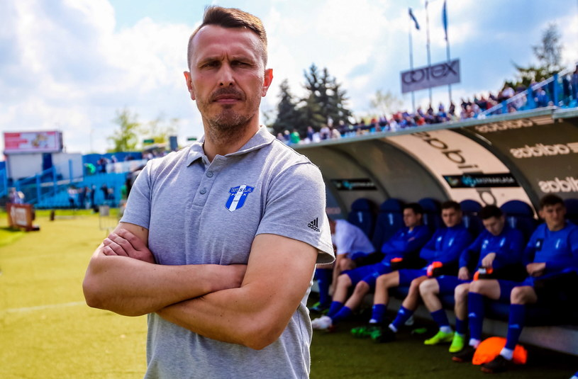 Leszek Ojrzyński /Piotr Augustyniak /PAP