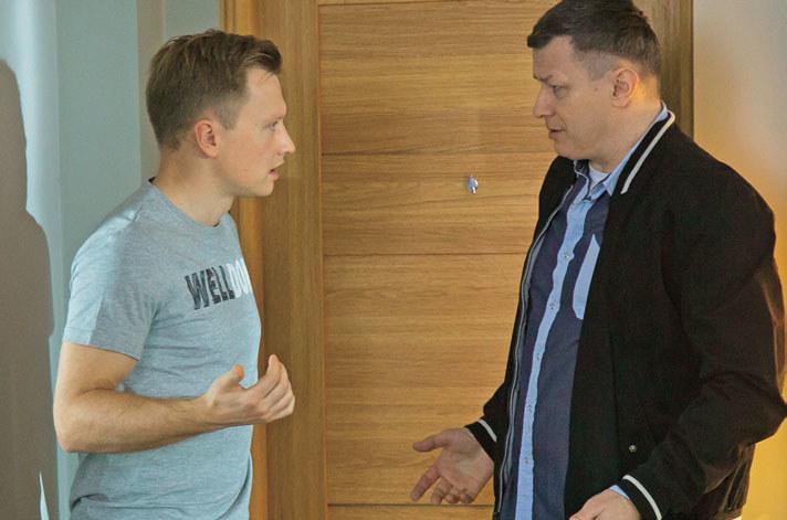 Leszek poprosi starszego syna o pomoc w sprawie Tomka /Świat Seriali
