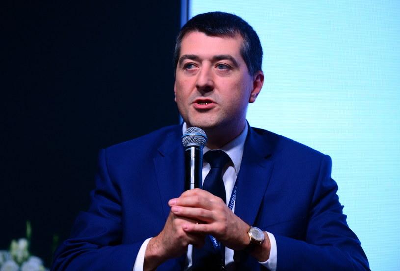 Leszek Skiba, wiceminister finansów /Piotr Guzik /Agencja FORUM